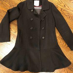Kate Spade peplum coat